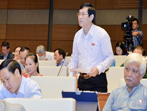 ĐBQH Nguyễn Ngọc Phương chất vấn Bộ trưởng Trần Tuấn Anh