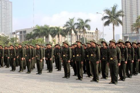 300 chiến sĩ đã trúng tuyển thực hiện nghĩa vụ CAND năm 2017