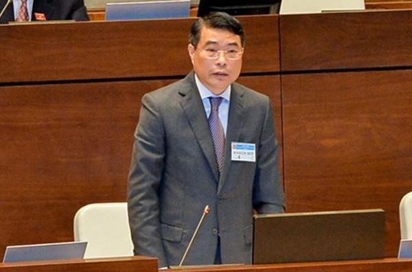 Thống đốc NHNN Lê Minh Hưng trả lời chất vấn ĐBQH