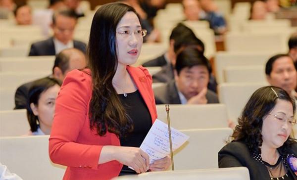 ĐBQH Nguyễn Thị Thuỷ phát biểu thảo luận