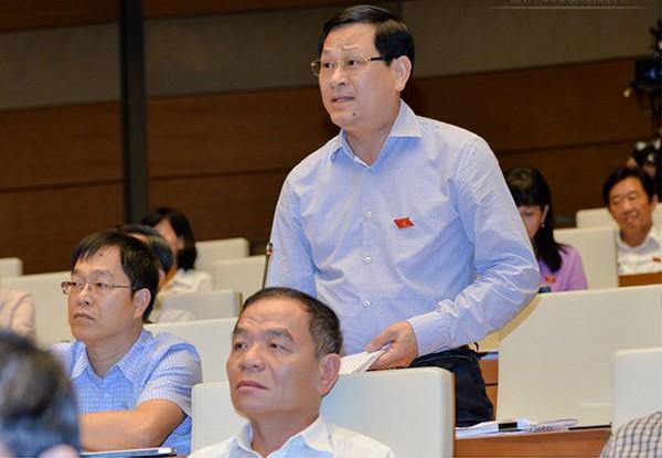 ĐB Nguyễn Hữu Cầu góp ý thảo luận