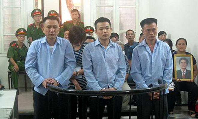 Các bị cáo trong vụ án