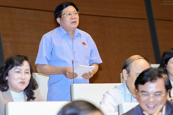 ĐB Cao Đình Thưởng chất vấn Bộ trưởng Bộ Công Thương Trần Tuấn Anh