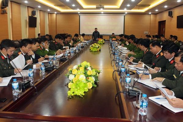 CATP Hà Nội tổ chức hội nghị triển khai phương án bảo đảm ANTT và bảo vệ trận Chung kết AFF SUZUKI Cup năm 2018
