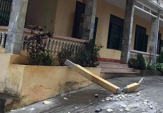 Hiện trường vụ việc khiến học sinh Lê Quang M tử vong