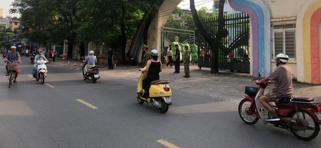 Các cổng trường học trên địa bàn phường Thành Công khá thông thoáng
