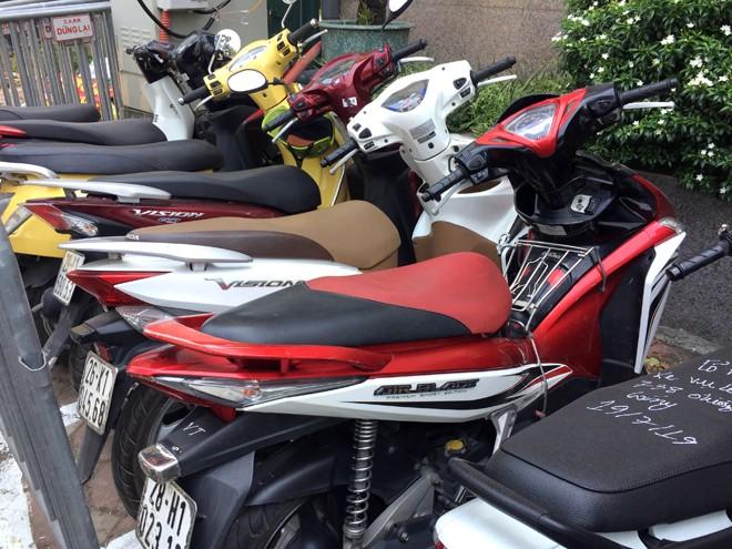 Một số xe máy Thư trộm cắp đã được cơ quan Công an thu hồi