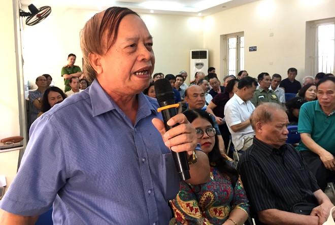 Ông Ngô Trí Thăng chia sẻ, các đồng chí CSKV là cánh tay nối dài giữa nhân dân với chính quyền và lực lượng Công an