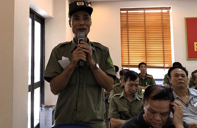 Ông Phạm Thanh Quyến chia sẻ những tâm tư và nhận xét về lực lượng CAP Phúc Xá