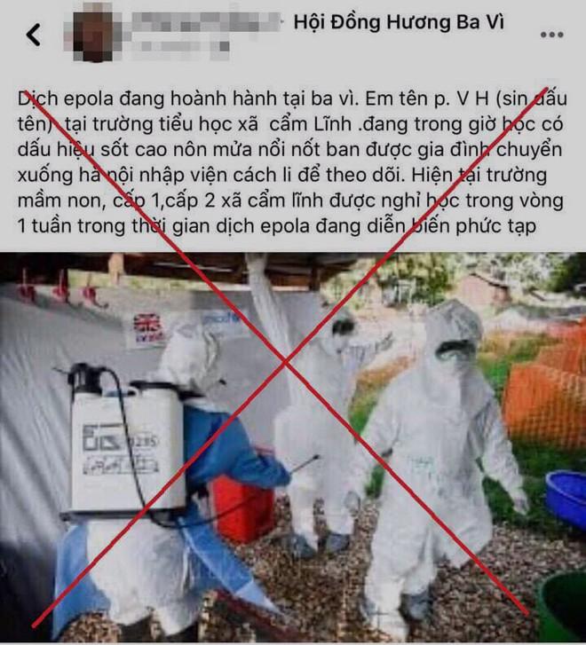 Những nội dung và hình ảnh T. tung lên mạng xã hội (facebook) sai sự thật, nhằm tạo sự chú ý đã được gỡ bỏ