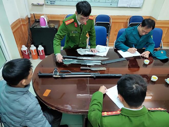 Lực lượng CAQ Ba Đình tổ chức thu hồi VKVLN và CCHT