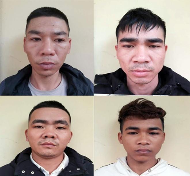 Các đối tượng bị bắt giữ trong hai vụ án