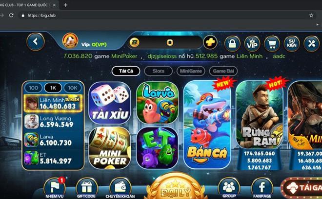 """hững dạng game tương tự như RikVip, AOE và """"Nổ hũ""""… người dùng chỉ cần truy cập ứng dụng CHplay (trên Androi) hoặc App Store (trên iOS) của điện thoại thông minh sẽ có vô số trò cờ bạc dưới hình thức """"Game online"""" chào mời"""