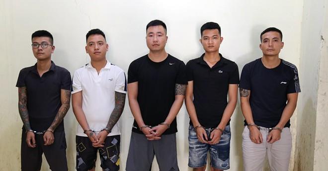 5 đối tượng liên quan đến hoạt động cho vay nặng lãi tại cơ sở hỗ trợ tài chính Hoàng Phúc 3 bị cơ quan CSĐT CATP Vĩnh Yên bắt khẩn cấp