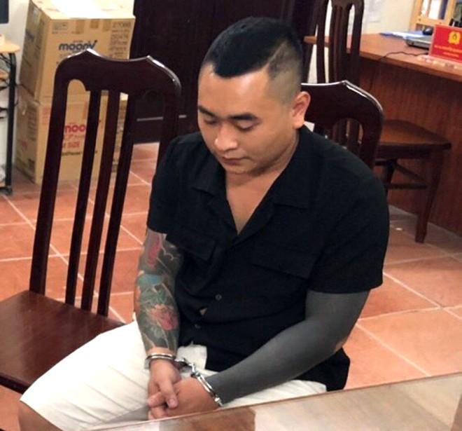 Đối tượng Hoàng đã bị Công an quận Hà Đông phối hợp với phòng nghiệp vụ CATP Hà Nội bắt giữ sau vài giờ gây án rồi bỏ trốn