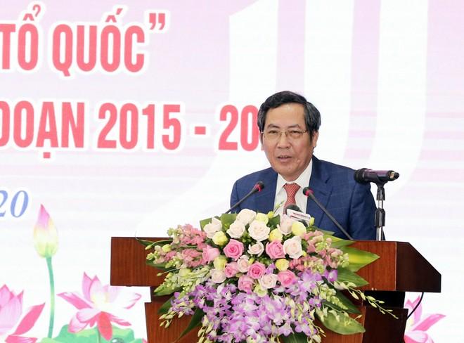 Đồng chí Thuận Hữu, Ủy viên Trung ương Đảng, Phó Trưởng Ban Tuyên giáo Trung ương, Tổng Biên tập Báo Nhân Dân