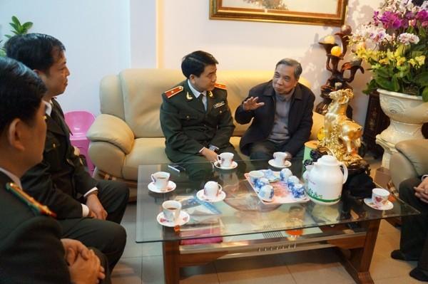 Đồng chí Nguyễn Đình Thành tin tưởng Công an Hà Nội sẽ luôn hoàn thành xuất sắc mọi nhiệm vụ