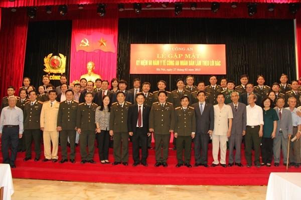 Lãnh đạo hai Bộ Công an, Y tế cùng các đại biểu dự lễ kỷ niệm