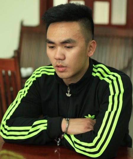 Hoàng Văn Huỳnh Và số tang vật bị thu giữ