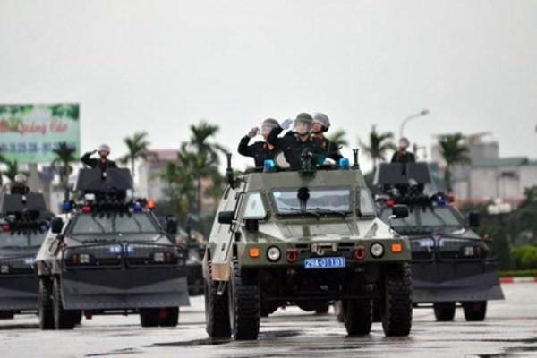 Lực lượng chức năng sẵn sàng, quyết tâm bảo vệ tuyệt đối an toàn IPU 132