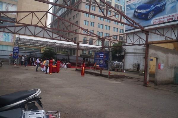 Khu đất được dành để xây trường Tiểu học Bà Triệu