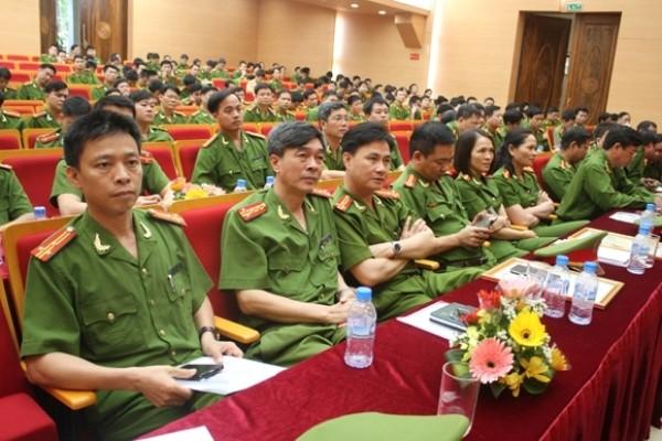 """Nhiều đồng chí chỉ huy, cán bộ Công an Hà Nội xuất sắc trưởng thành từ """"cái nôi"""" Học viện CSND"""
