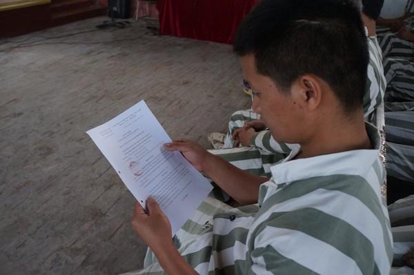 """""""Ngày về"""" của phạm nhân thi hành án tại Trại tạm giam số 2 ảnh 4"""