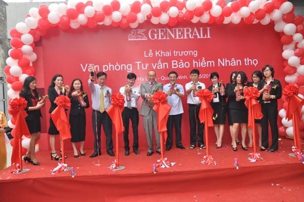Lễ khai trương Generali Việt Nam tại Quảng Ninh