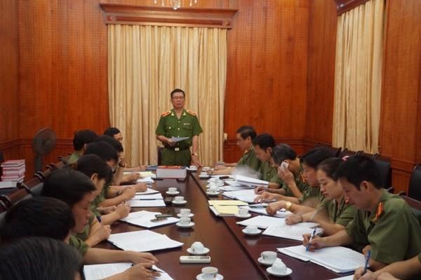 Thiếu tướng Đinh Văn Toản đưa ra định hướng quan trọng trong công tác tổ chức, chấm thi