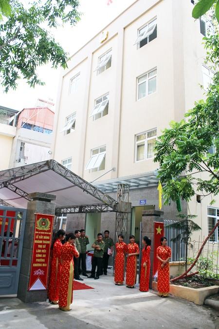 Trụ sở CAP Khương Mai có nhiều công năng hiện đại, đáp ứng tốt yêu cầu công tác, phục vụ nhân dân