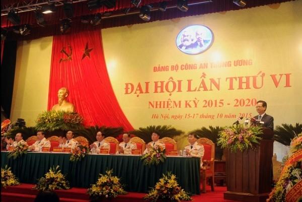 Thủ tướng Nguyễn Tấn Dũng ghi nhận, biểu dương những kết quả của toàn lực lượng CAND