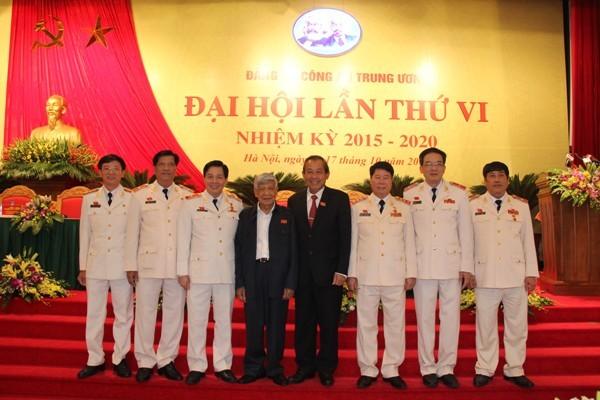 Chủ tịch nước và Thủ tướng Chính phủ dự khai mạc Đại hội Đảng bộ Công an Trung ương lần thứ VI ảnh 9