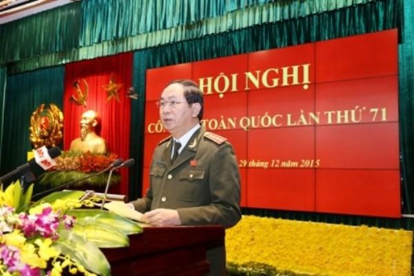 Bộ trưởng Trần Đại Quang phát biểu khai mạc hội nghị