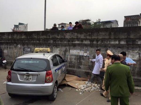 Hiện trường vụ tai nạn thương tâm trên phố Hồng Hà, chiều 3-3