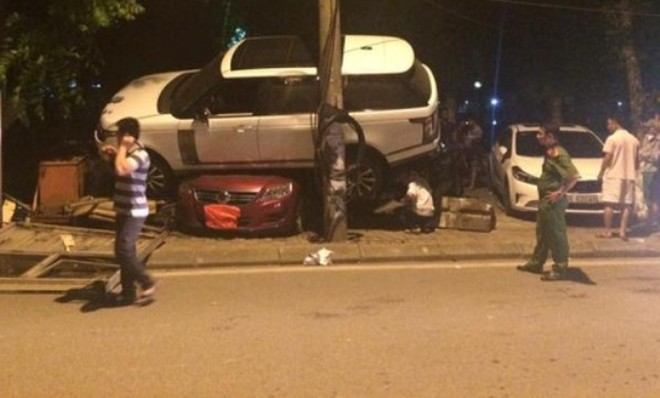 Một phần hiện trường vụ tai nạn (ảnh otofun)