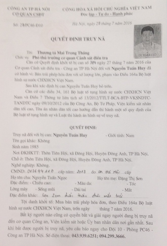 Bắt Trần Văn Toàn – đối tượng trốn thuế, lừa đảo hơn 5 tỷ đồng ảnh 5