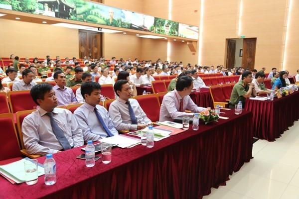 Hội nghị đã xác định trách nhiệm cụ thể của CATP và phía Ngân hàng trong công tác