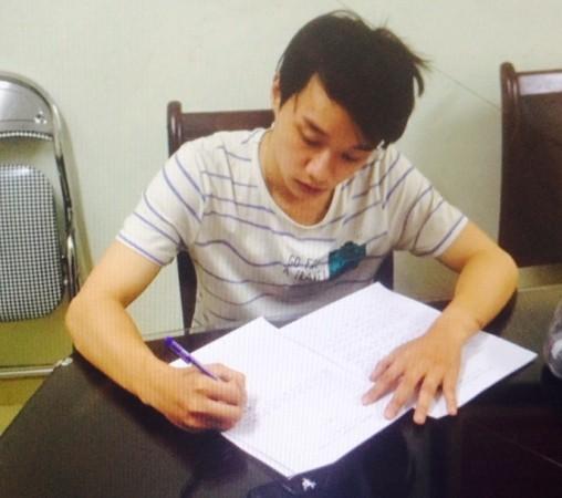 Phan Thành Biên khai nhận sự việc tại cơ quan Công an