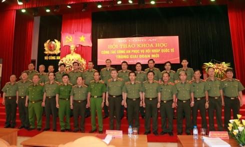 Bộ trưởng Tô Lâm cùng các đại biểu dự hội thảo khoa học