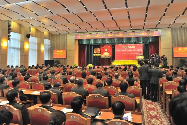 Khai mạc trọng thể hội nghị Công an toàn quốc lần thứ 72 ảnh 4