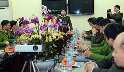 Thứ trưởng Bùi Văn Nam nhấn mạnh những yêu cầu trọng tâm với CAQ Ba Đình