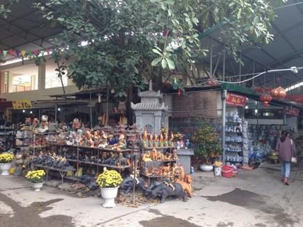 Chợ gốm Bát Tràng mở cửa kinh doanh trở lại ảnh 2