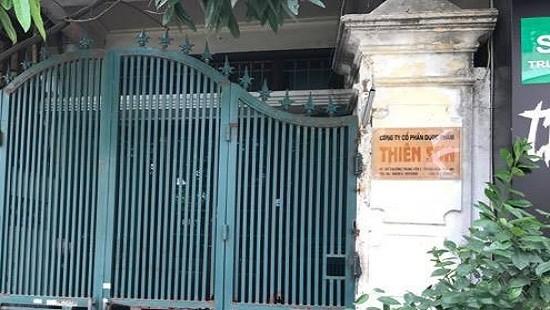 Trụ sở Công ty CPdược phẩm Thiên Sơn tại quận Cầu Giấy, Hà Nội