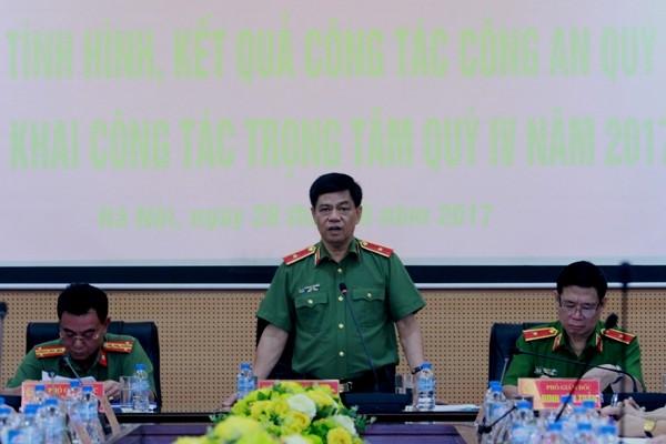 Thiếu tướng Đoàn Duy Khương quán triệt 9 nhiệm vụ trọng tâm từ nay đến cuối năm 2017