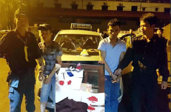 Các đối tượng có hành vi tàng trữ ma túy bị bắt giữ