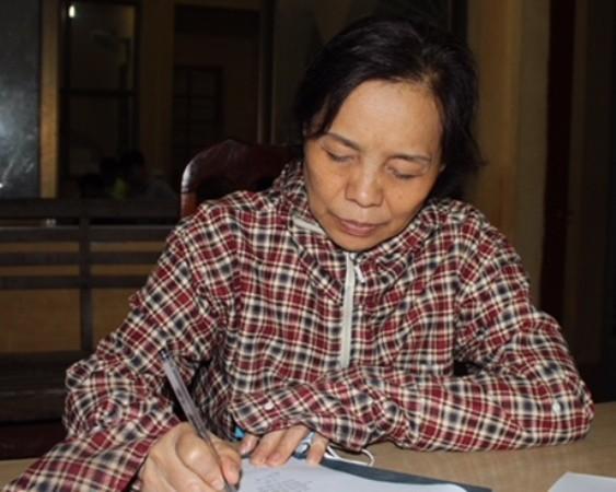 Nguyễn Thị Tăng khai nhận hành vi phạm tội tại CQĐT