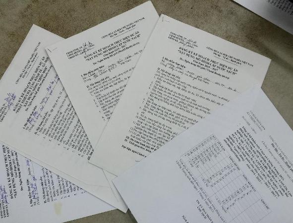 Tài liệu liên quan đến vụ án bị thu giữ