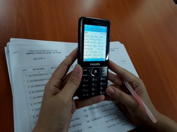 Nhắn tin thông báo, xin lỗi công dân khi thủ tục hành chính bị chậm ảnh 4