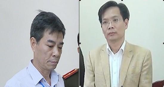 """Hai bị can """"chóp bu"""" Trương Tuấn Dũng và Phan Tiến Diện bị khởi tố, tạm giam"""