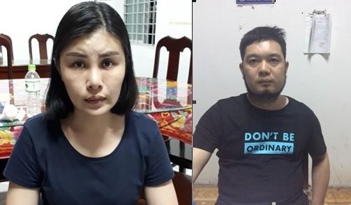 Vợ chồng Hoa, Cường trốn truy nã và bị bắt tại Việt Nam